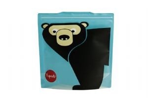 3 Sprouts Reusable Sandwich Bag - Bear